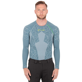 Cube Race Be Cool Function maniche lunghe Uomo, grey'n'green